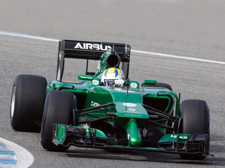 2014 Caterham CT05 formula f-1 race racing   g wallpaper