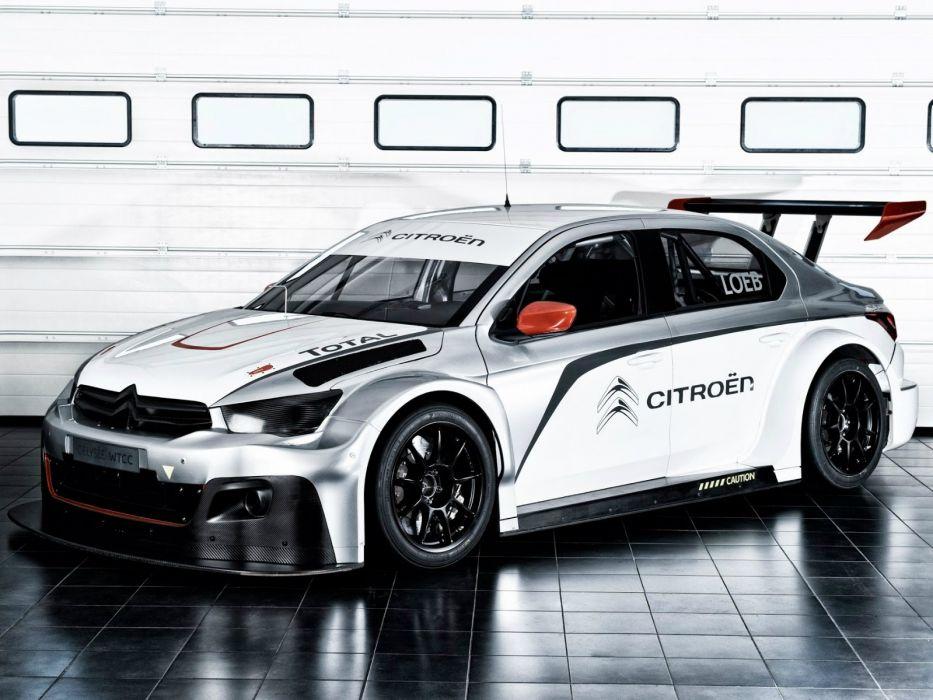 2014 Citroen C-Elysee WTCC race racing   f wallpaper
