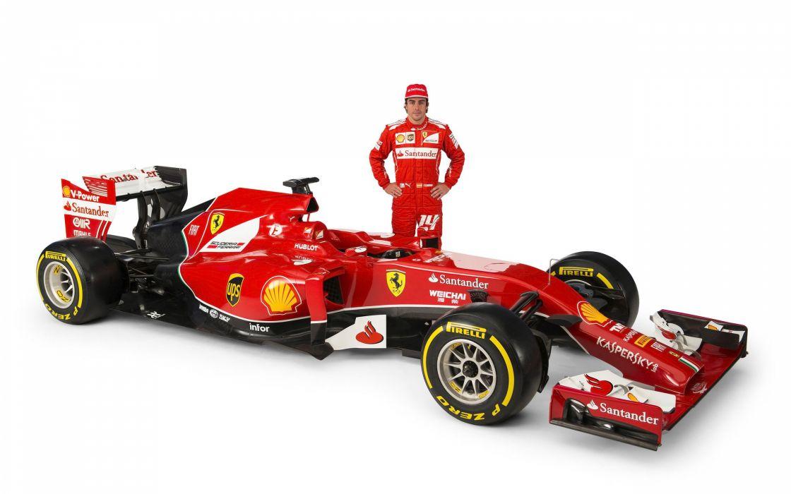 2014 Ferrari F14 T f-1 formula race racing   m wallpaper