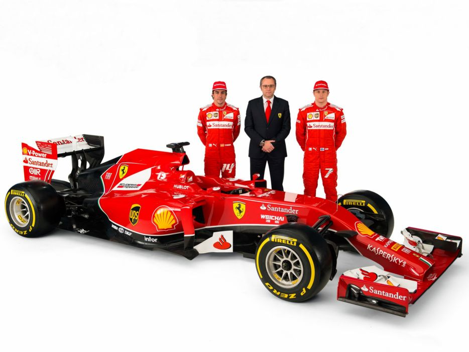 2014 Ferrari F14 T f-1 formula race racing  f wallpaper
