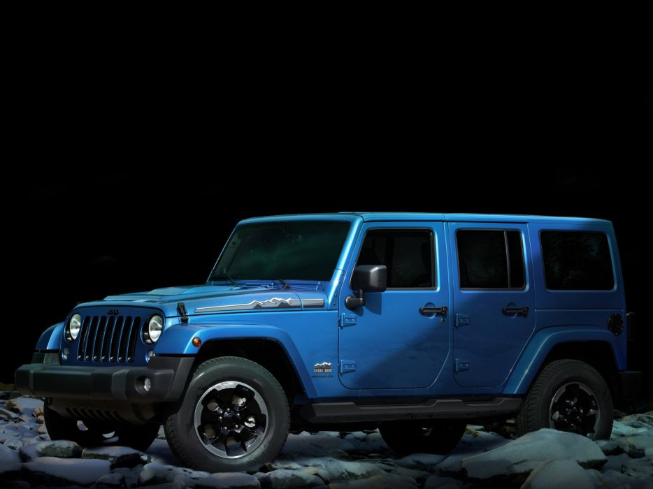 2014 Jeep Wrangler Unlimited Polar (J-K) 4x4  h wallpaper