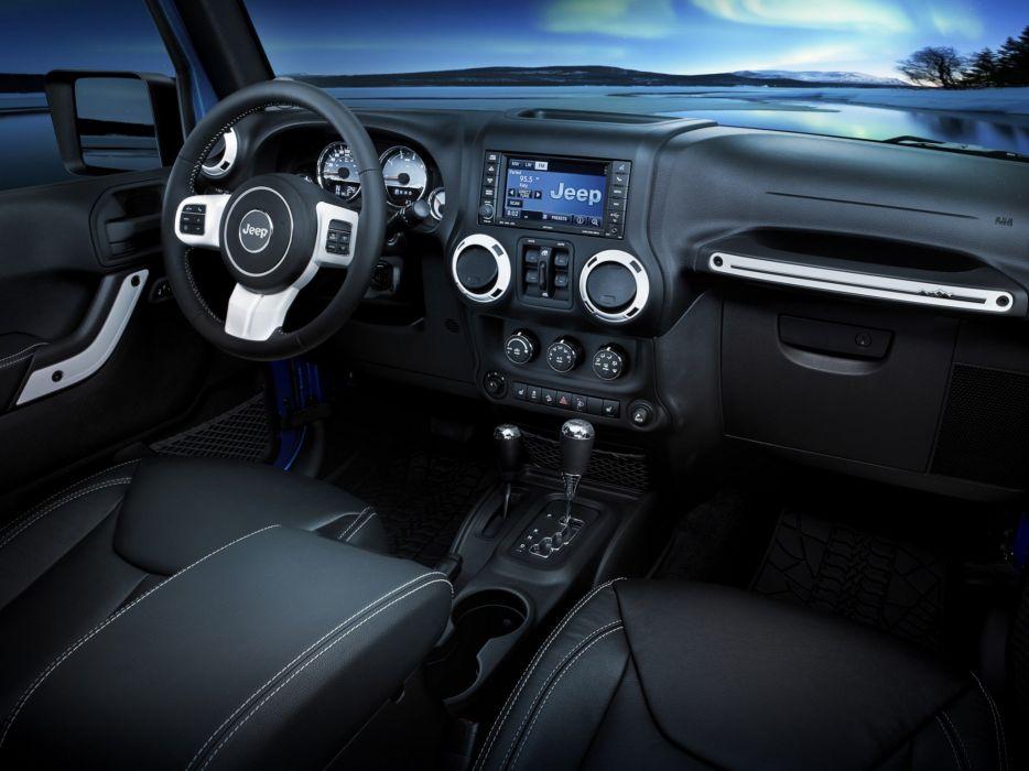 2014 Jeep Wrangler Unlimited Polar (J-K) 4x4 interior      g wallpaper