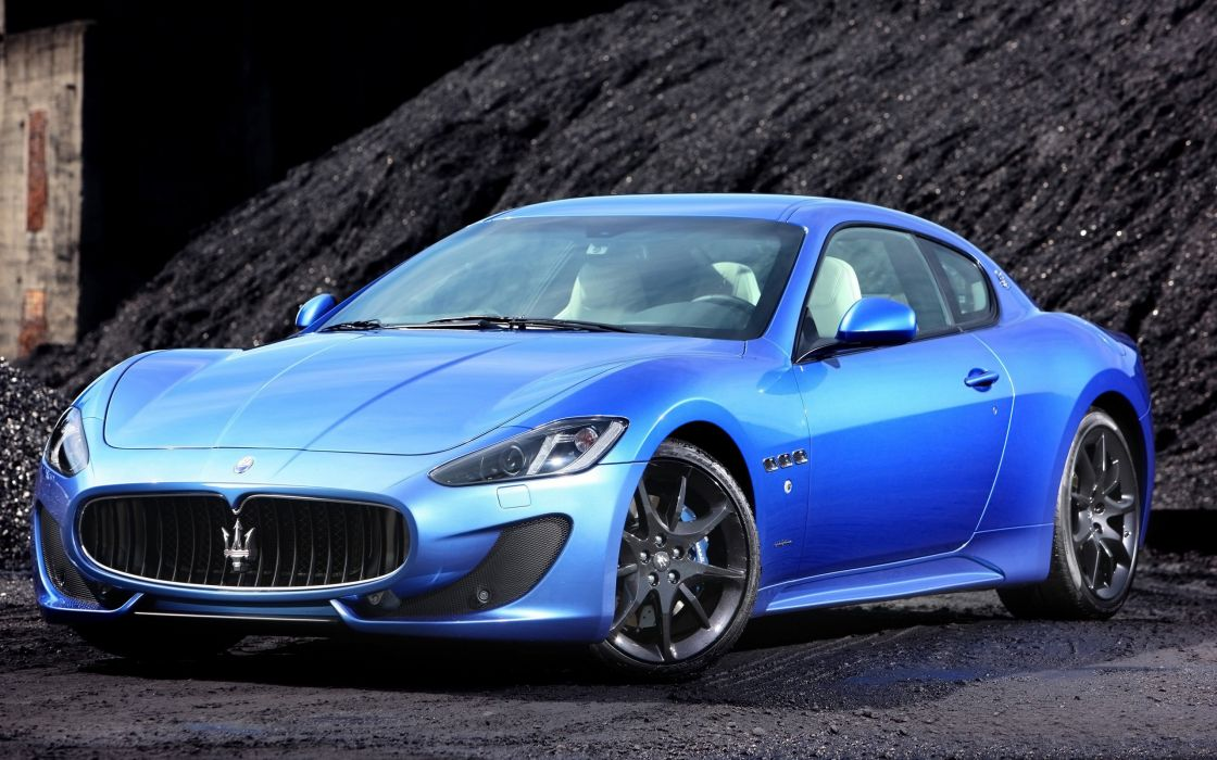 2014 Maserati GranTurismo Sport supercar    ha wallpaper