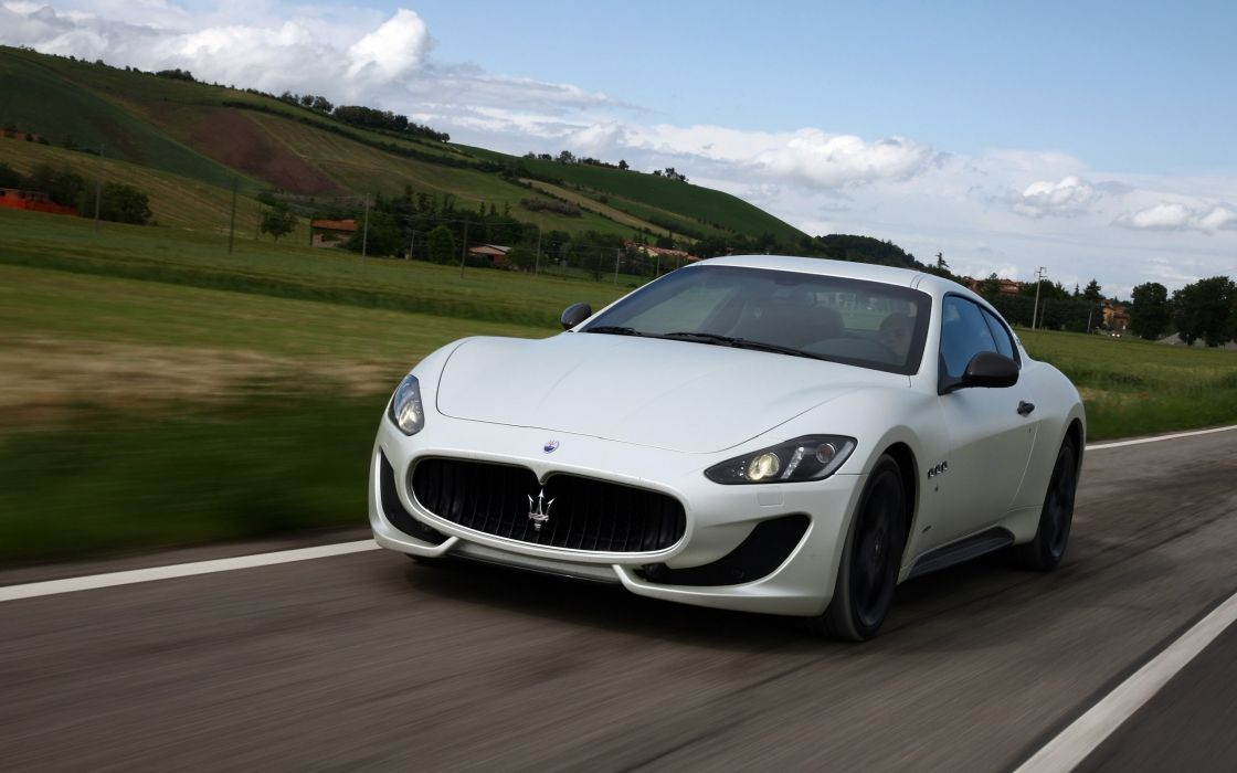 2014 Maserati GranTurismo Sport supercar    hj wallpaper