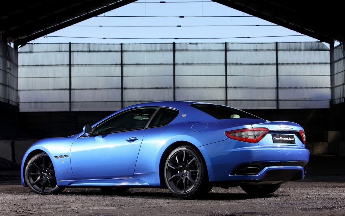 2014 Maserati GranTurismo Sport supercar   hw wallpaper