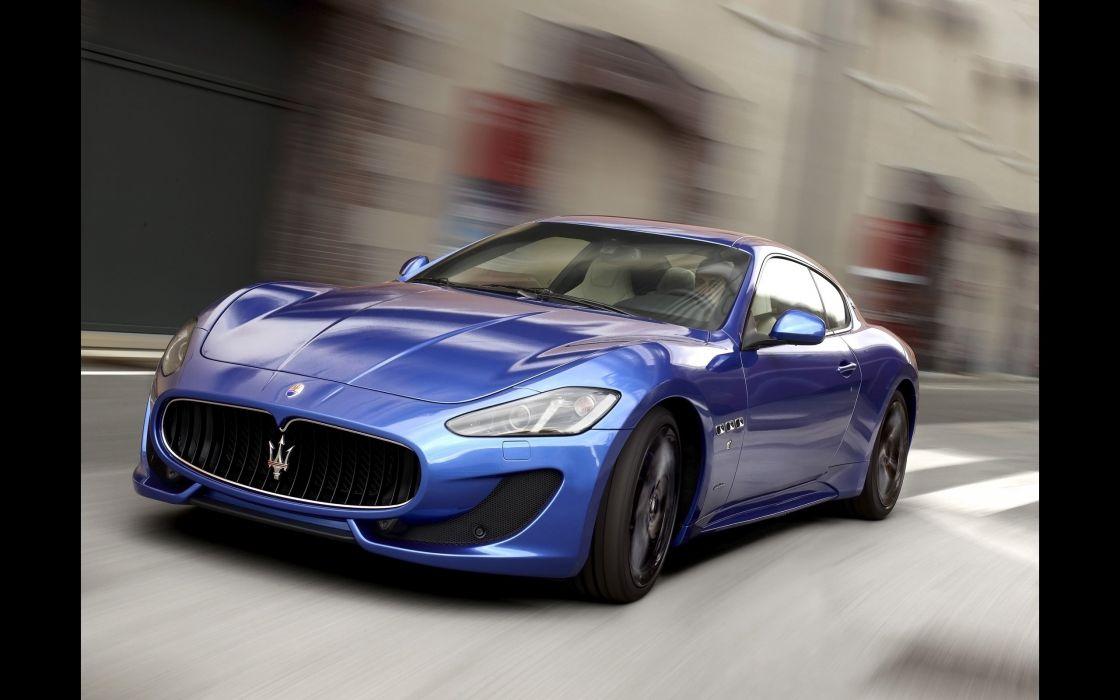 2014 Maserati GranTurismo Sport supercar  j wallpaper