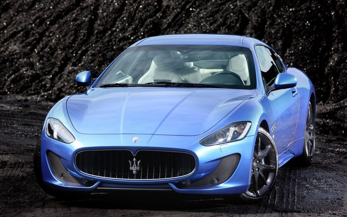 2014 Maserati GranTurismo Sport supercar  f wallpaper
