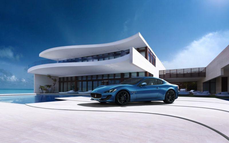 2014 Maserati GranTurismo Sport supercar h wallpaper