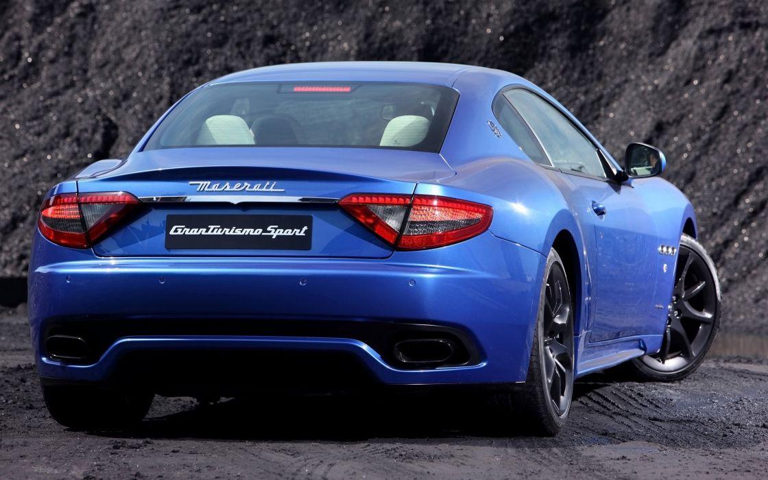2014 Maserati GranTurismo Sport supercar  he wallpaper