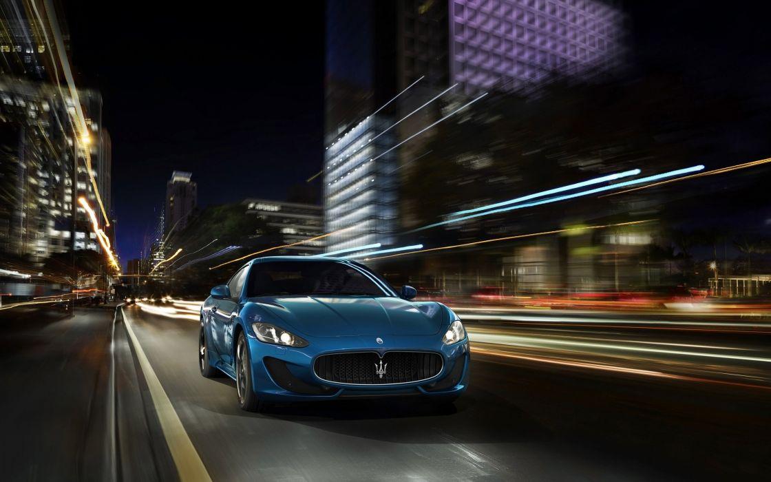 2014 Maserati GranTurismo Sport supercar  hf wallpaper