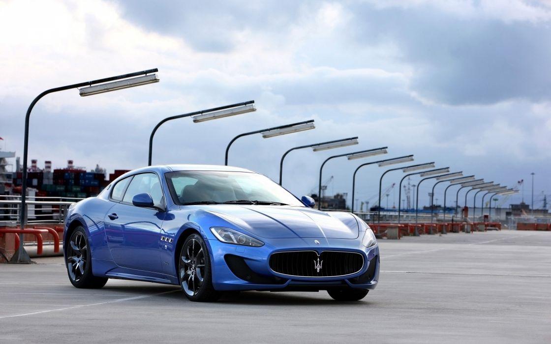 2014 Maserati GranTurismo Sport supercar v wallpaper