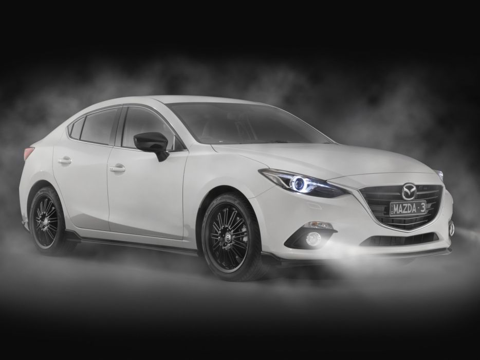 2014 Mazda 3 Sedan Kuroi (B-M)  g wallpaper