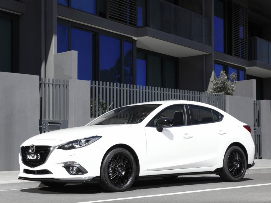 2014 Mazda 3 Sedan Kuroi (B-M)  m wallpaper
