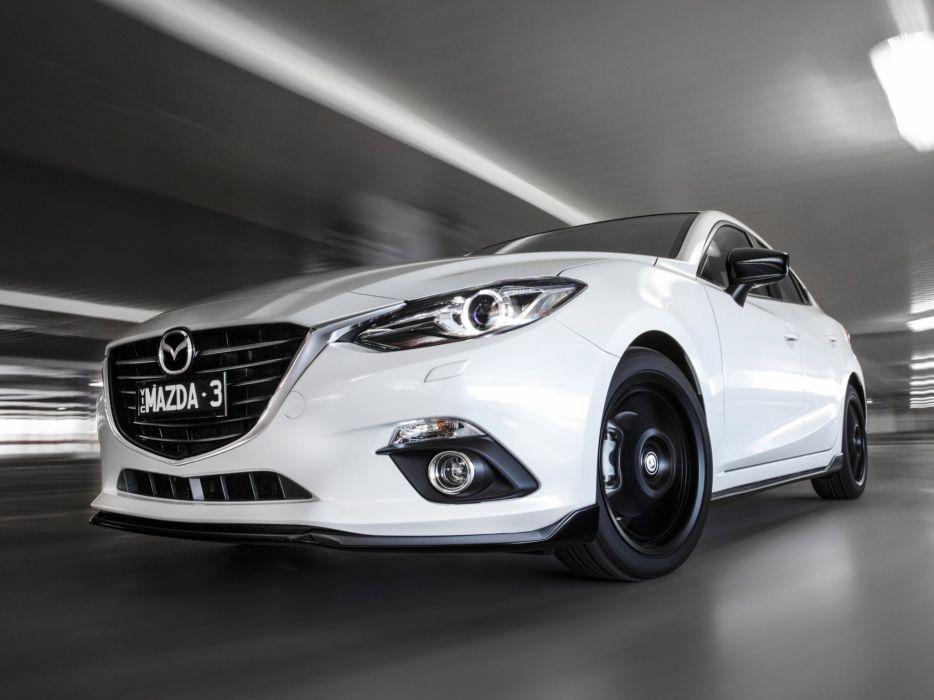 2014 Mazda 3 Sedan Kuroi (B-M) m wallpaper