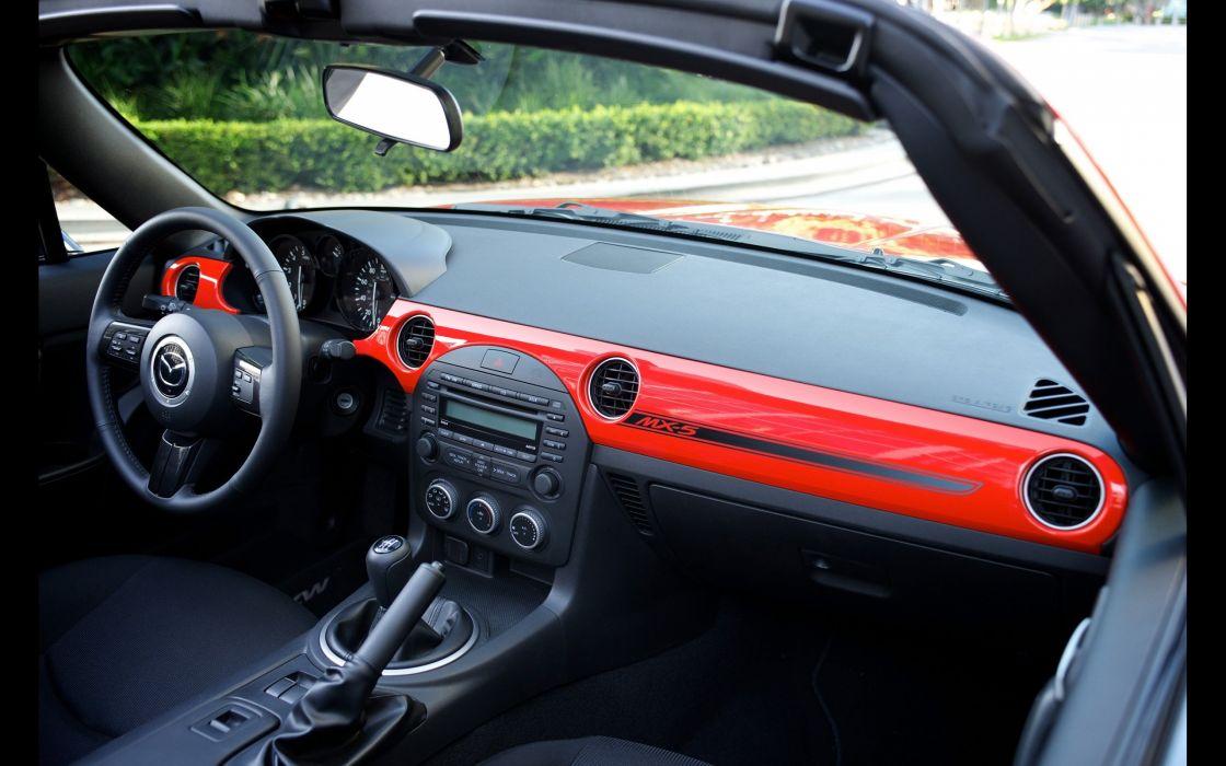 2014 Mazda MX-5 Miata interior     f wallpaper