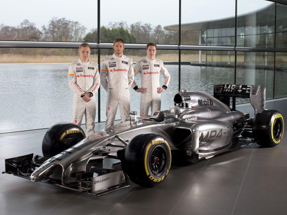2014 McLaren Mercedes Benz MP4-29 formula f-1 race racing     g wallpaper