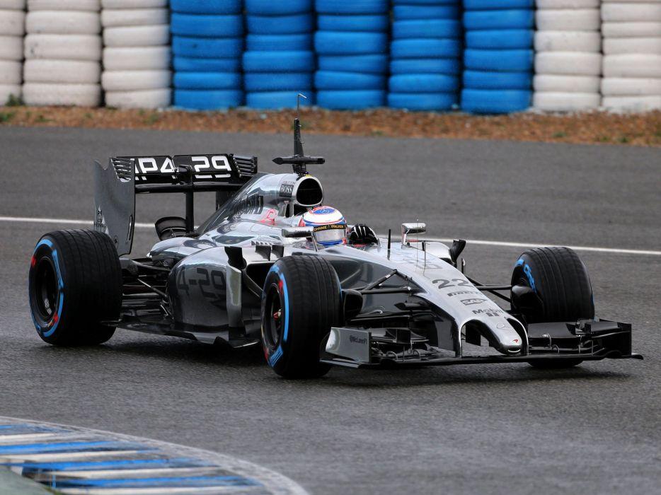 2014 McLaren Mercedes Benz MP4-29 formula f-1 race racing d wallpaper