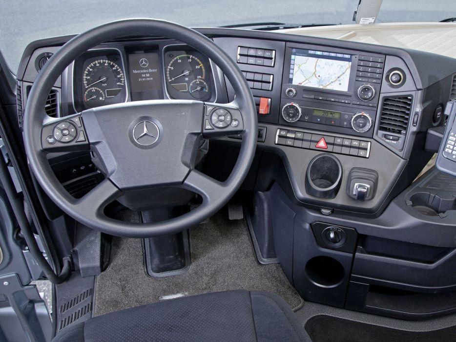 2014 Mercedes Benz Actros 4163 SLT (MP4) semi tractor interior      g wallpaper