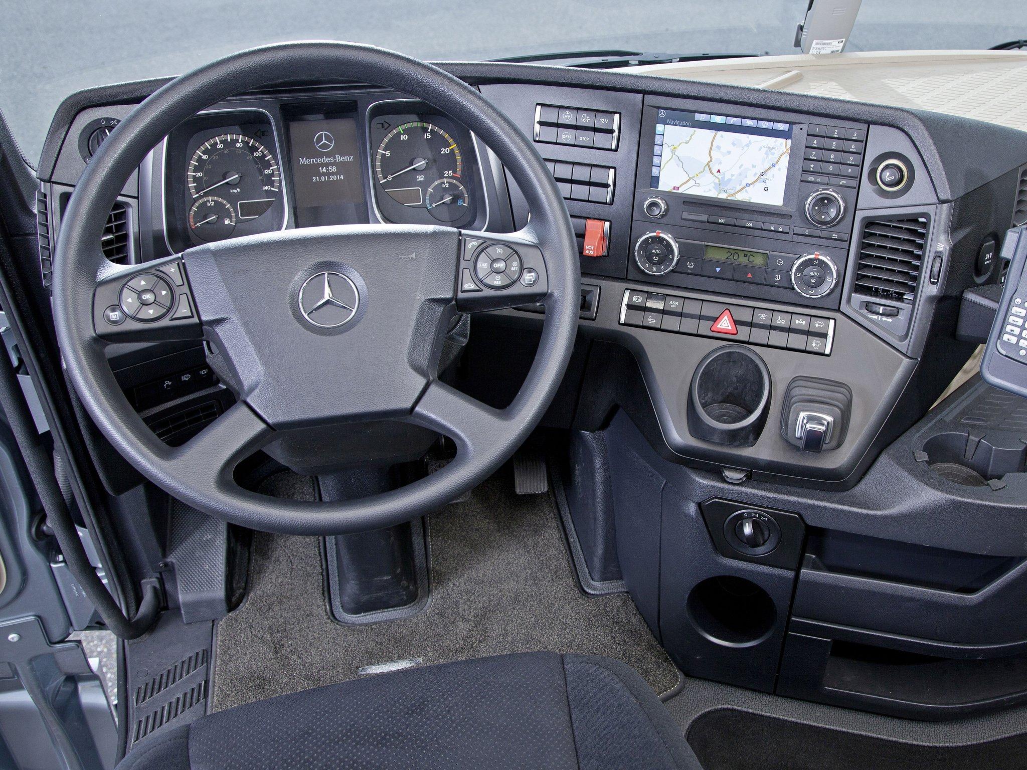 2014 Mercedes Benz Actros 4163 Slt Mp4 Semi Tractor