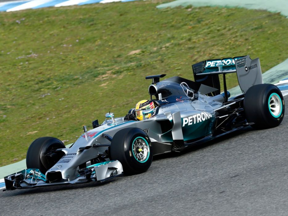 2014 Mercedes Benz AMG F-1 W05 formula race racing   g wallpaper