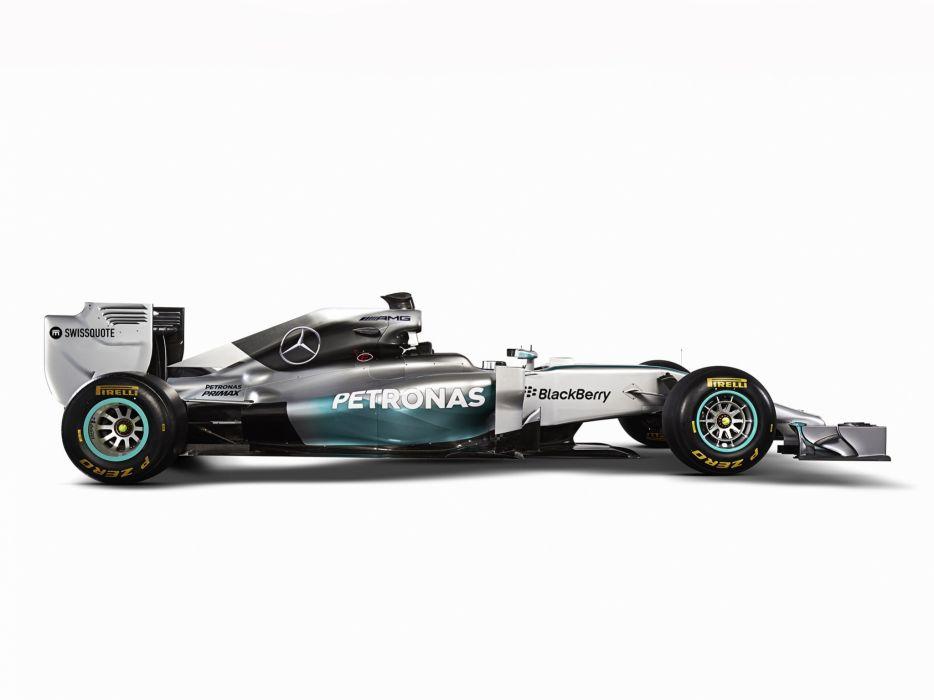 2014 Mercedes Benz AMG F-1 W05 formula race racing   gd wallpaper