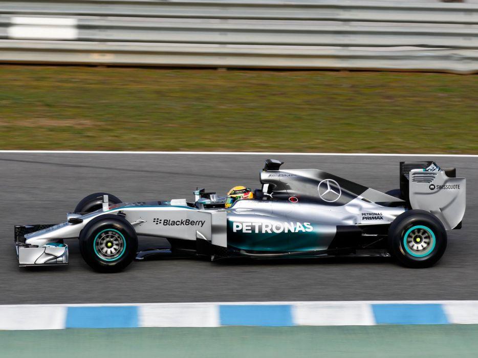 2014 Mercedes Benz AMG F-1 W05 formula race racing   g wallpaper