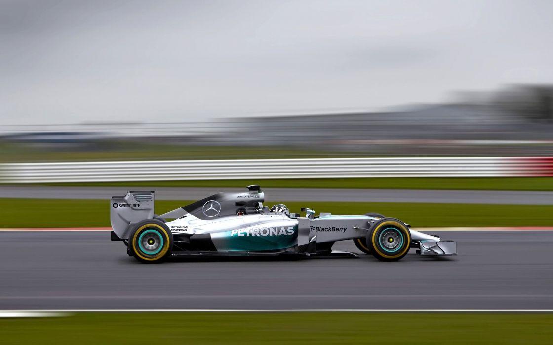 2014 Mercedes Benz AMG F-1 W05 formula race racing   hd wallpaper