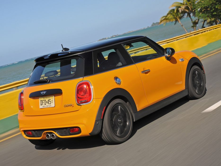 2014 Mini Cooper S US-spec (F56)  hs wallpaper