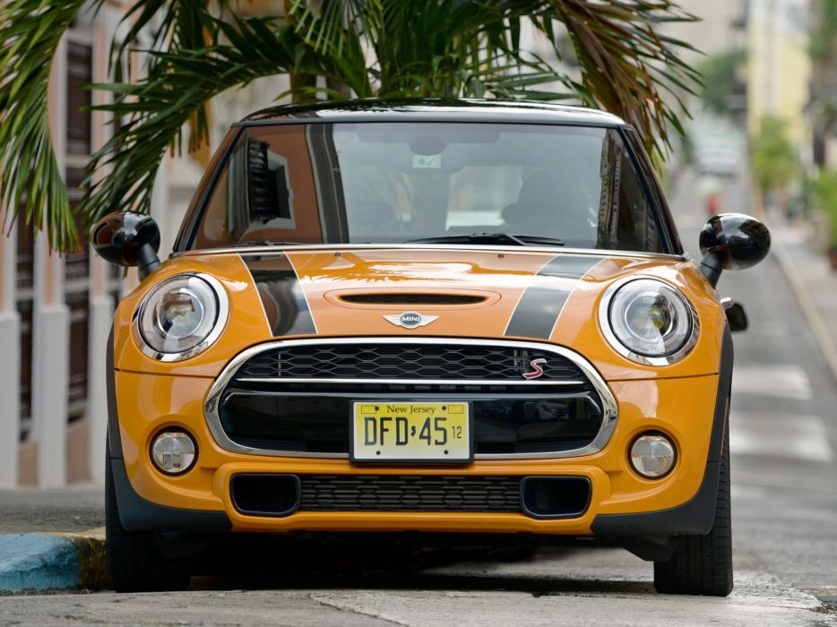 2014 Mini Cooper S US-spec (F56)   h wallpaper