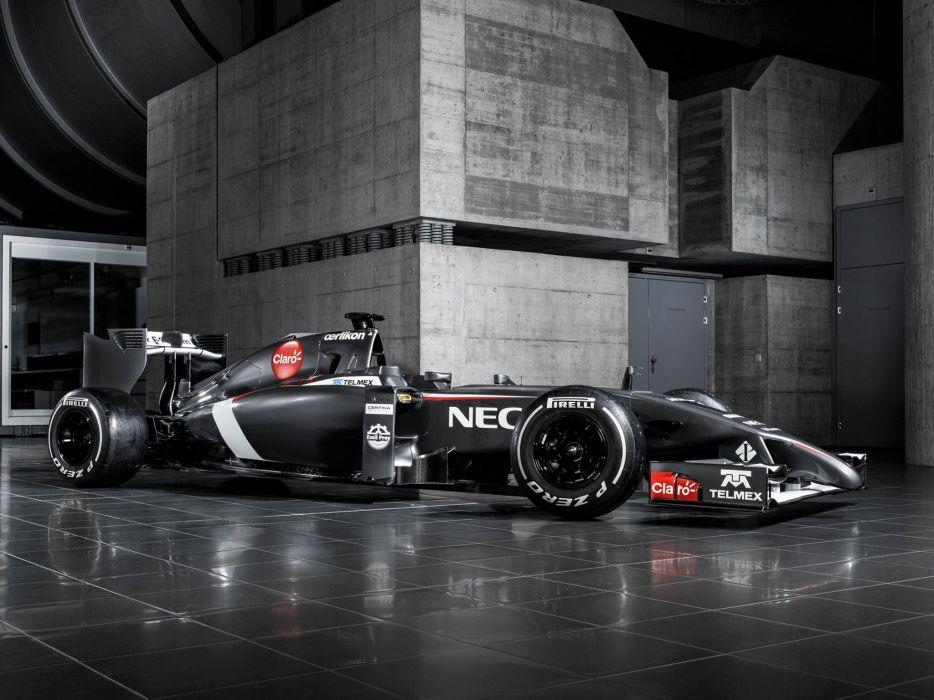 2014 Sauber C33 formula f-1 race racing          g wallpaper