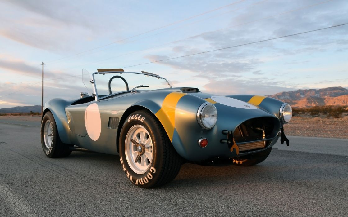 2014 Shelby Cobra 289 FIA 50th Anniversary supercar muscle race racing  gd wallpaper