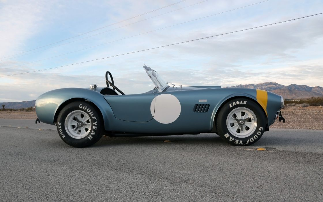 2014 Shelby Cobra 289 FIA 50th Anniversary supercar muscle race racing fs wallpaper