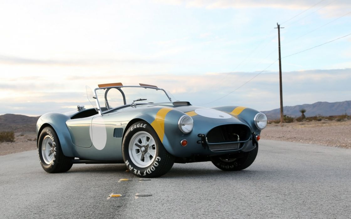 2014 Shelby Cobra 289 FIA 50th Anniversary supercar muscle race racing   hf wallpaper