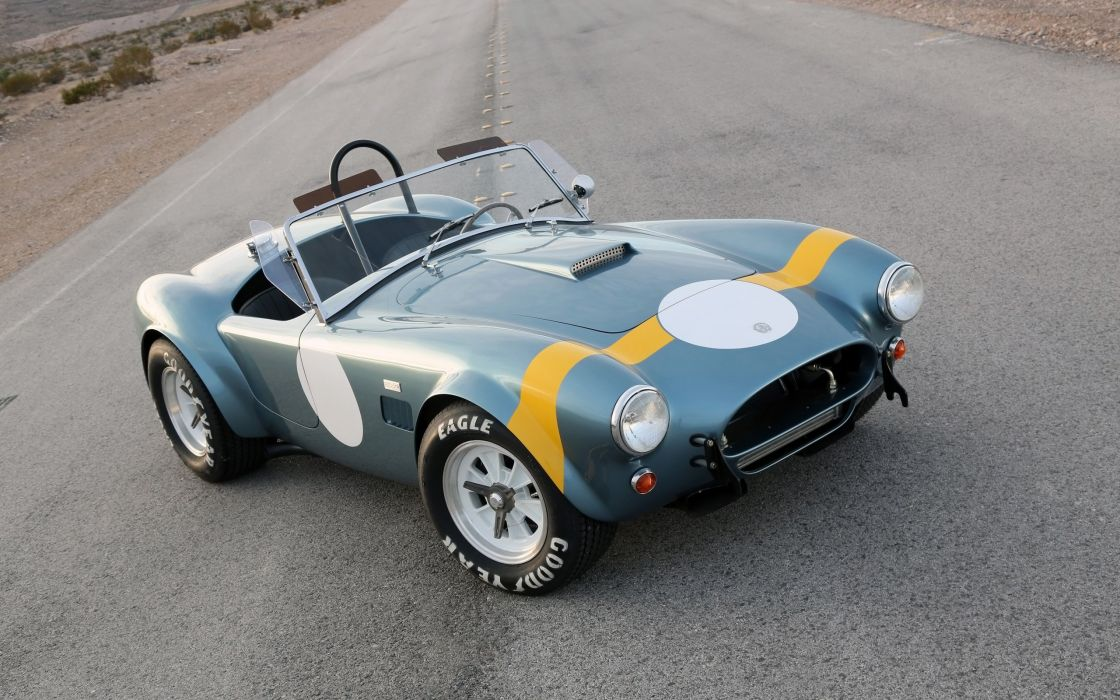 2014 Shelby Cobra 289 FIA 50th Anniversary supercar muscle race racing  g wallpaper