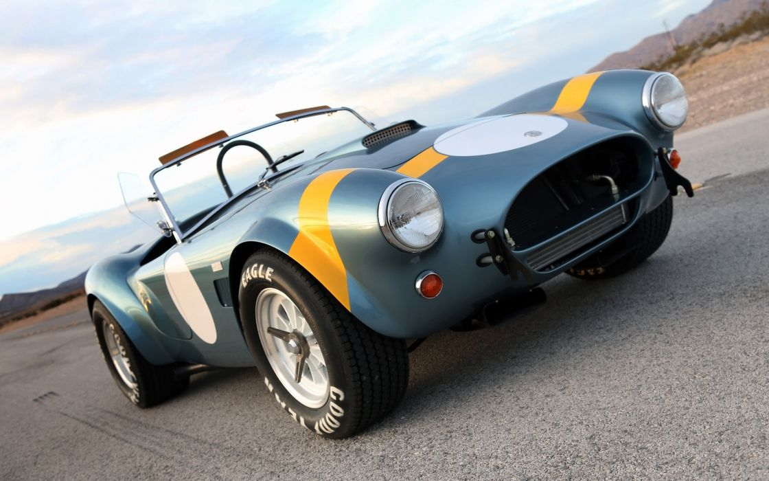 2014 Shelby Cobra 289 FIA 50th Anniversary supercar muscle race racing  h wallpaper