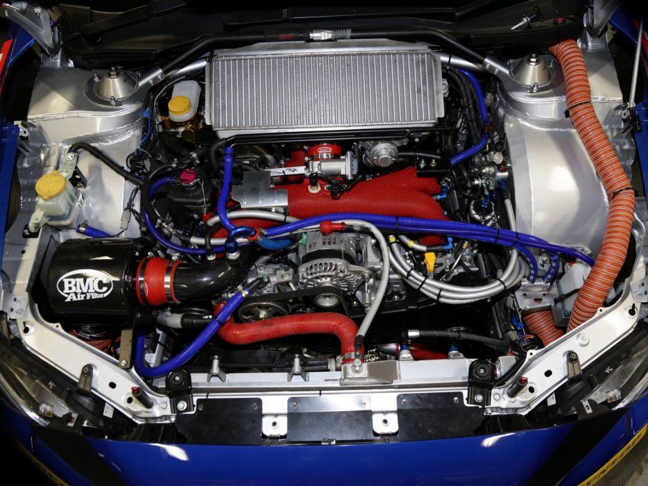 2014 Subaru WRX STI race racing engine    g wallpaper
