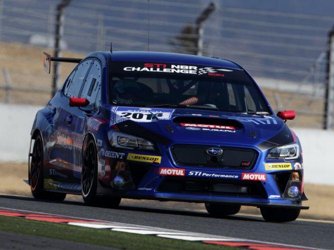 2014 Subaru WRX STI race racing r wallpaper
