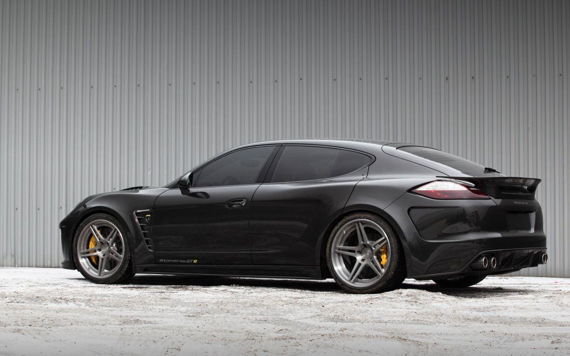 2014 TopCar Porsche Panamera Turbo S Stingray GTR tuning   fd wallpaper