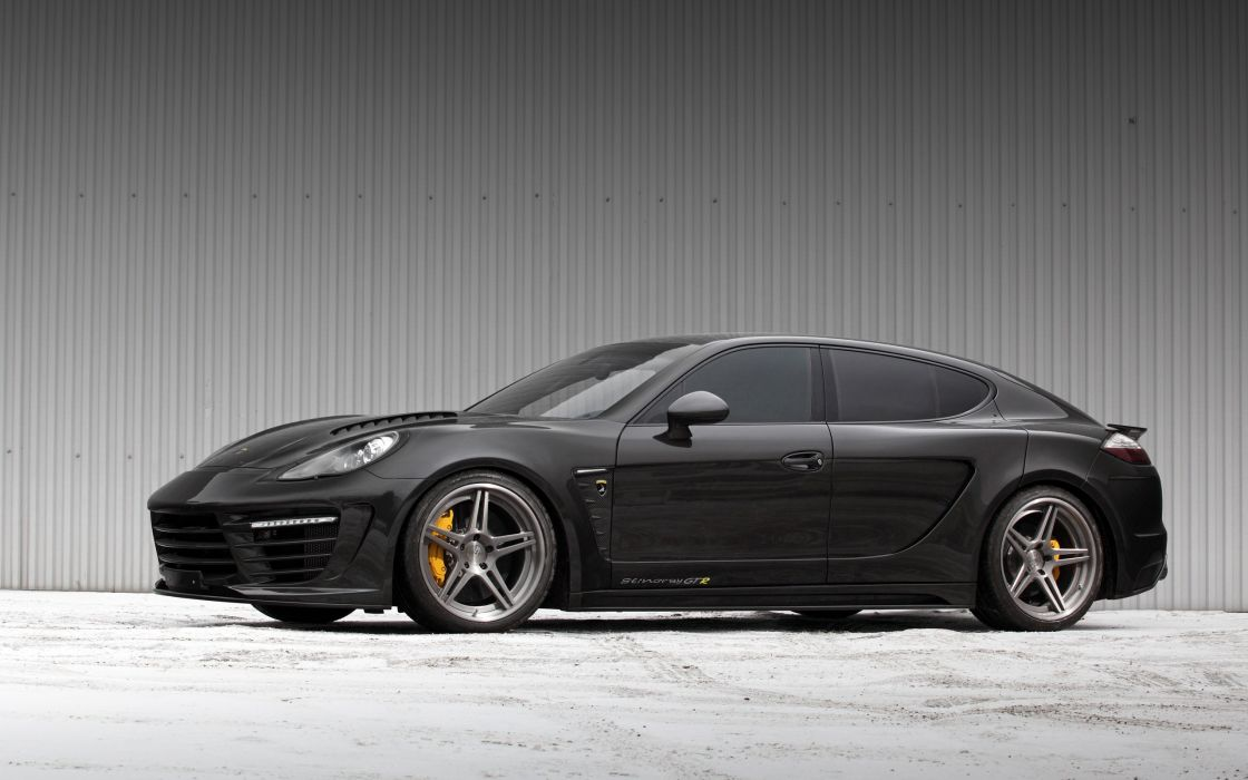 2014 TopCar Porsche Panamera Turbo S Stingray GTR tuning    f wallpaper