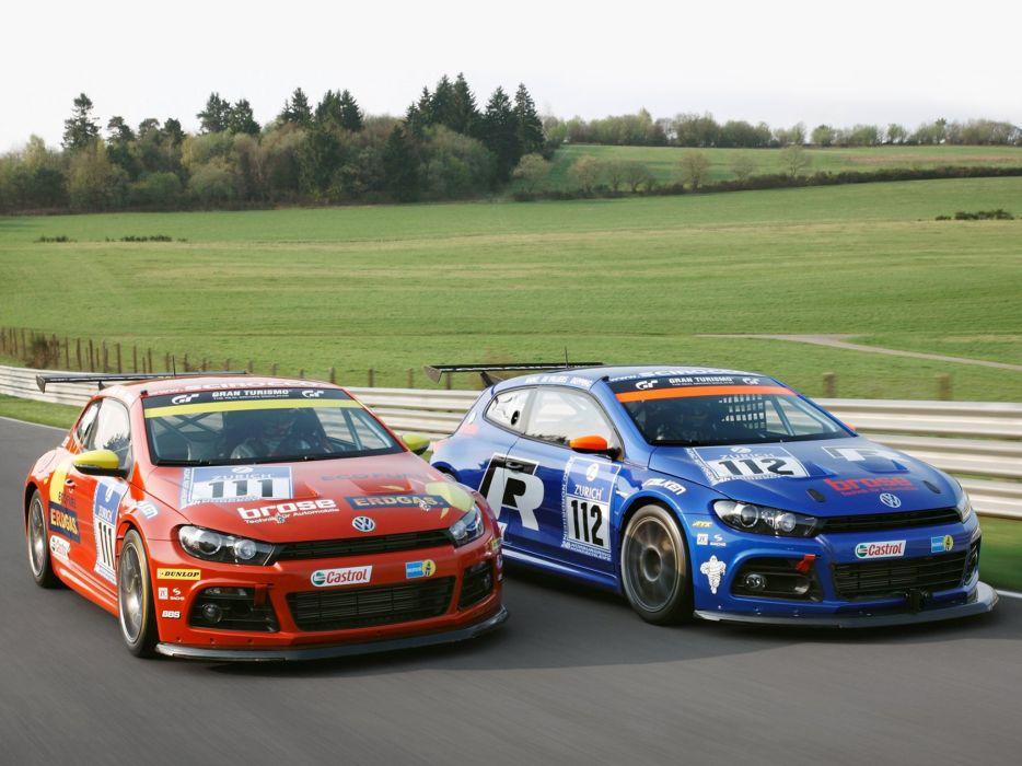 2014 Volkswagen Scirocco race racing tuning      g wallpaper