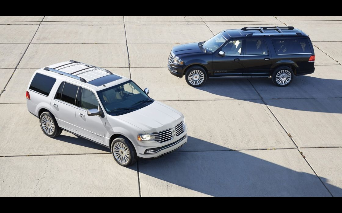 2015 Lincoln Navigator suv luxury  fe wallpaper