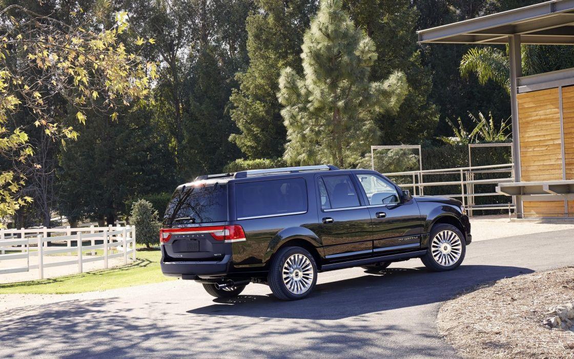 2015 Lincoln Navigator suv luxury  g wallpaper
