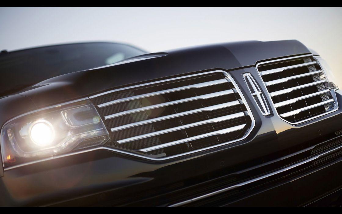 2015 Lincoln Navigator suv luxury  fy wallpaper