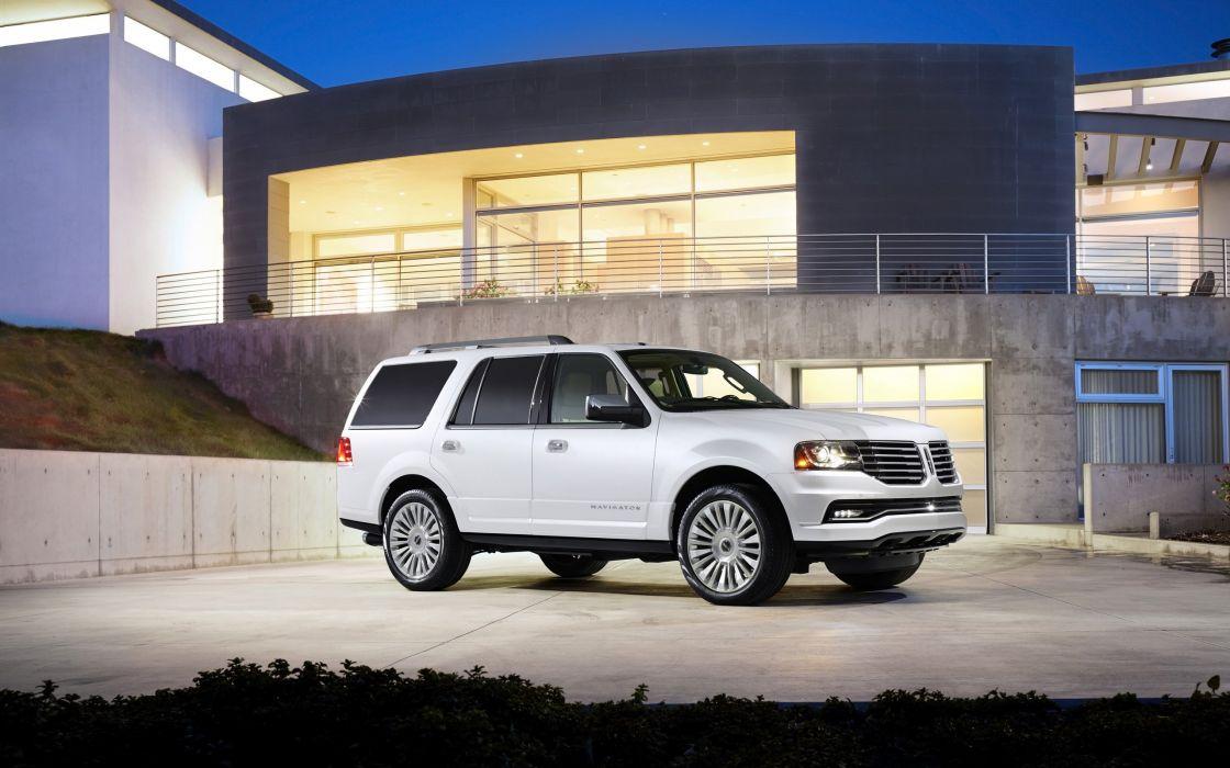 2015 Lincoln Navigator suv luxury  f wallpaper