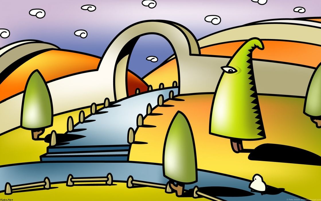 BLURBURGER cartoon anime comics puzzle game (53) wallpaper