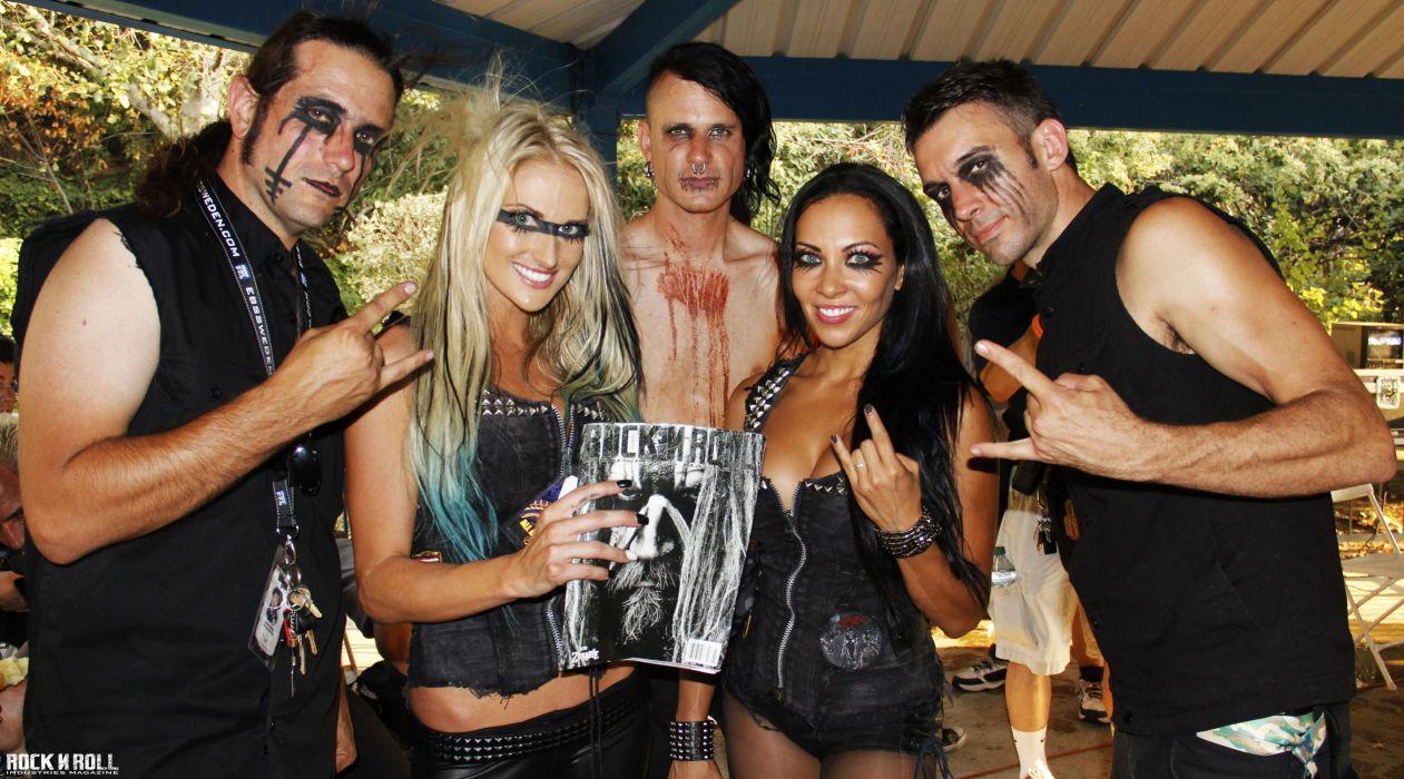 The BUTCHER BABIES heavy metal rock (8) wallpaper