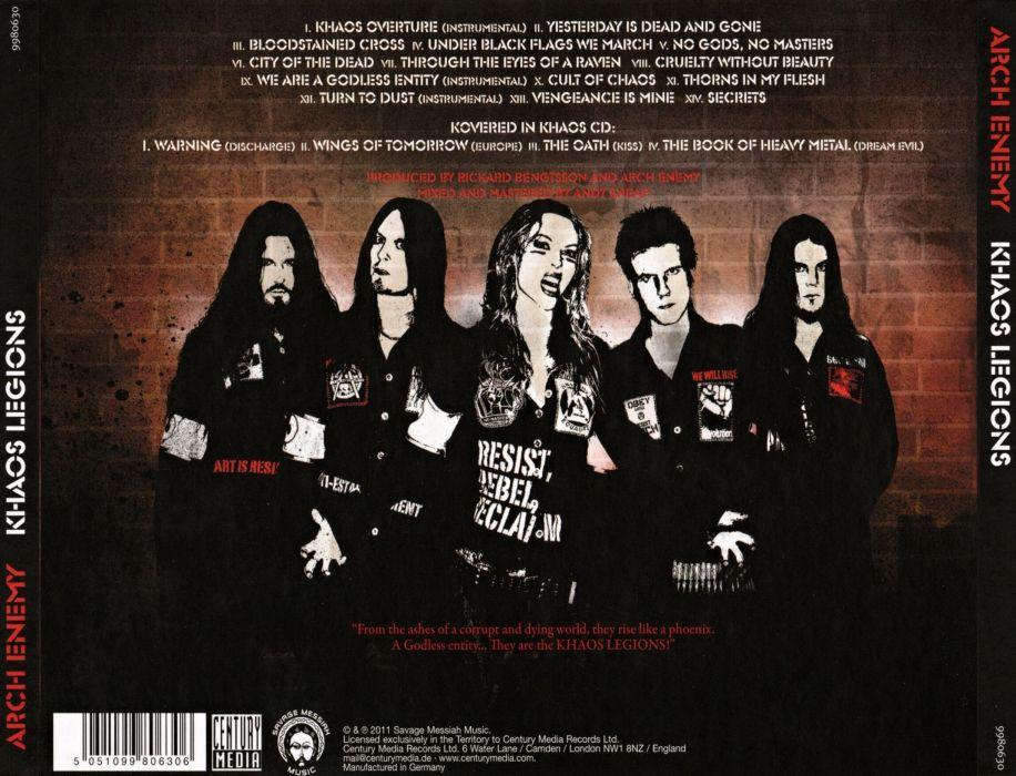ARCH ENEMY death heavy metal (16) wallpaper
