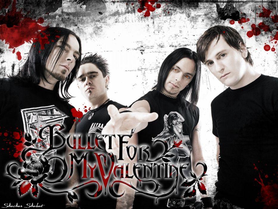BULLET FOR MY VALENTINE heavy metal metalcore (3) wallpaper