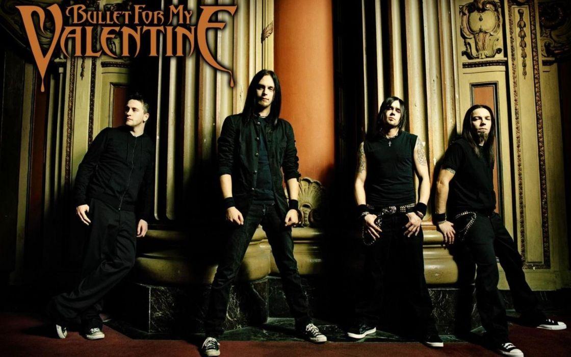BULLET FOR MY VALENTINE heavy metal metalcore (7) wallpaper