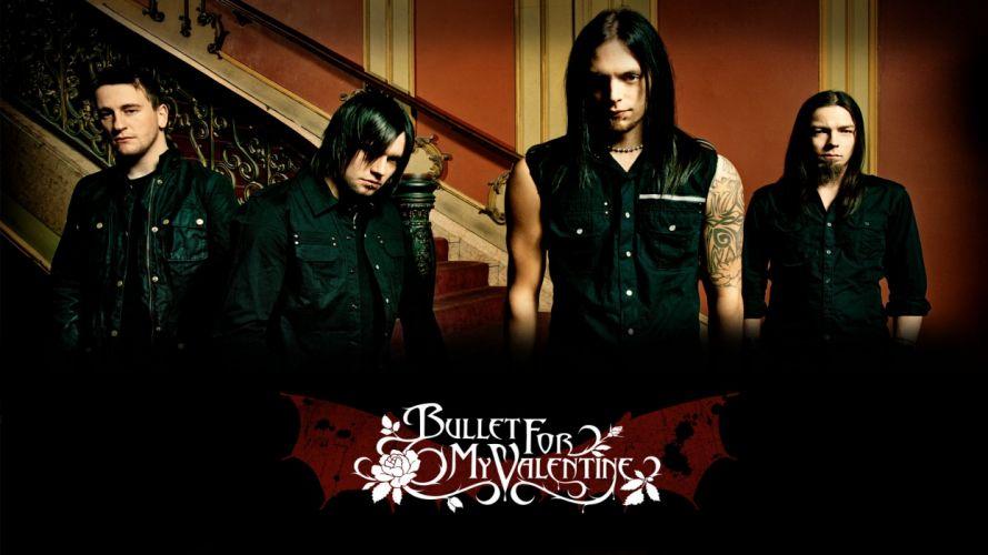 BULLET FOR MY VALENTINE heavy metal metalcore (27) wallpaper